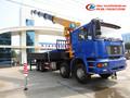8 * 4 Dongfeng de la grúa camión, 16Ton camiones grúa / de la grúa