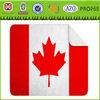 fleece blanket Canada flag plain printed Sherpa Blanket