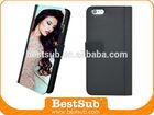 BestSub New Sublimation phone case Design for PU iPhone 6 Plus Case Phone Case (IP6F55K)