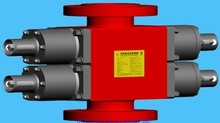 API 16A High Pressure Double Ram BOP Blow out Preventer for Well Drilling Oilfield