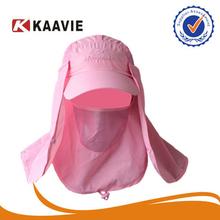 Unisex Men Fashion pink sun block picture hat