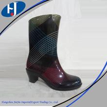 moda bayan pvc çizme İtalyan kışlık botlar kadın