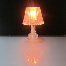 Plastique modèle à l'échelle lampe de table pour le modèle d'architecture layout, la mise en train, disposition de chemin de fer