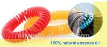 EVA Natural Mosquito Repellent Coil Bracelet eucalyptus & citronella oil safe to baby skin