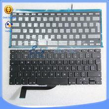 Alibaba Original keyboard for macbook pro retina A1398 keyboard layout For Arabic, French, German, Italy