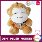 ICTI and Sedex audit new design plush pink monkey stuffed toys