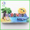 holiday wholesale hurghada resin fridge magnet