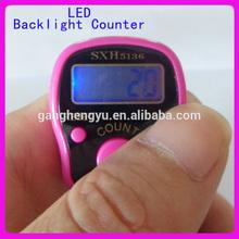 Mini Digital led Backlit counter,led digital traffic counte