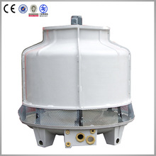 FRP open round water cooling tower