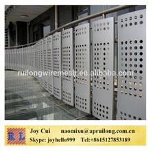 perforated filter screen/perforated decorative metal sheet/perforated mesh for petroleum