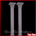Tallado de mármol decorativo romano de piedra columnas