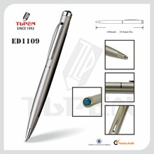 quality metal ball pen with epoxy dome ED1109