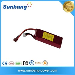 RC battery 7.4v rechargeable lithium polymer battery