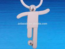 brazil world cup 2014 gifts keychain/ alloy soccer key ring/metal sport key holder