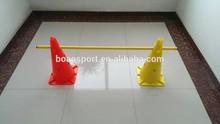 sports training hurdle cones