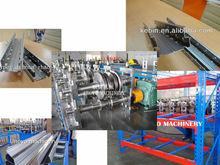 warehouse Storage rack framework roll forming machine [ metal profile making machine]