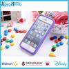 Walmart cartoon custom silicone mobile phone accessories case for Iphone, samsung