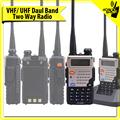 Más barato 4 W UHF 400 - 520 / VHF 136 - 174 Mhz oro baofeng UV5RE UU móvil de RADIO