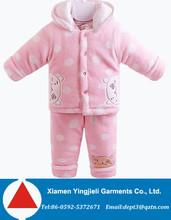 Cheap Wholesale Baby Winter Suit Set