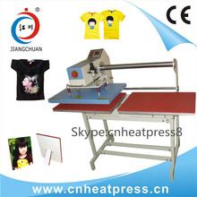 t shirt/garment/sportswear/fabric heat press machine for sale (JC-7B)