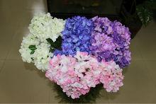 flower plastic hydrangea, artificial hydrangea petals flower