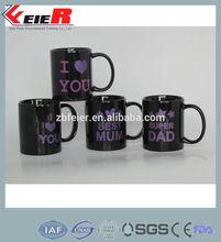 ceramic heat transfer mug, I love you mug FE1410-022