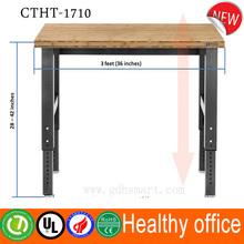 China supplier usefull manual height adjustable desk screw lifting computer desk