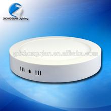 12 w ronde led drop lumière utilisant diffuseur en pmma cover
