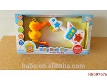 Shantou,Chenghai Plastic Baby Electric Guitar Funny Learning Toys Plastic Electric Guitar For Baby