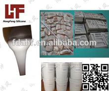hot vente silicone liquide moule de fabrication de tuiles