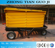 Hot sale ! SJY1.0-10 10m Hydraulic Portable Scissor Lift Table/Customized Available