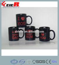 ceramic heat transfer mug, I love you mug FE1410-023