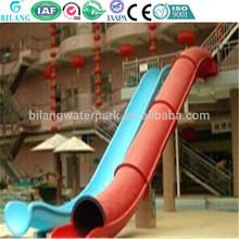 water playground fiberglass water toboggan slide, sled slide