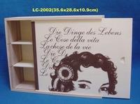 hot sale wooden wine set box wholesale