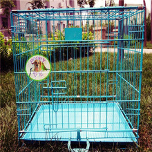 Electric welding high quality PVC plastic coated dog cage
