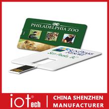 Giveout ID Card Holder Custom USB Pendrive 64GB