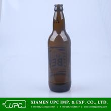 2014 best seller amber glass beer bottle 500ml