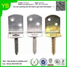 oem stamping parts,Galvanized Steel Corner Braces/Metal Wood Connectors/Screw Brackets