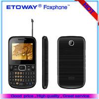 "2.2"" Screen Qual-band Optinal TV 3525 big speaker dual sim qwerty keypad phone"
