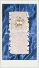 ribbon embroidery ang 3d flower sachet bag,tissue box cover