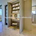 contemporânea banheiro barato interior portas dobráveis