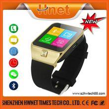 2014 OEM wrist Gear smart watch With GPS, WiFi, Bluetooth and Camera watch mobile phone wifi