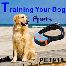 Electronic Shock Training Device Remote Pet iPhone Dog Collar with Anti-lost and Fence Mode