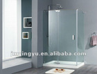 ACOC2804CL frameless tempered glass shower cubicles enclosure