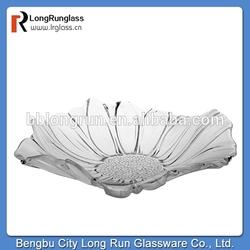 LongRun homeuse stylish Latest Classical fruit Glass holder container