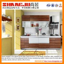 Acrylic MFC modern DIY recycling kitchen cabinet cupboard