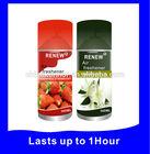 Air freshener aerosol spray for home, office, car, hotel, bathroom use
