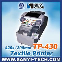 2014 New Digital Flatbed Textile Printer