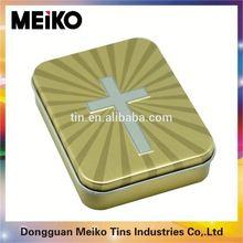 fashion rectangular tin can