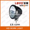 7'' Black Grey HID xenon light 35W 55W HID light plastic hid xenon work light